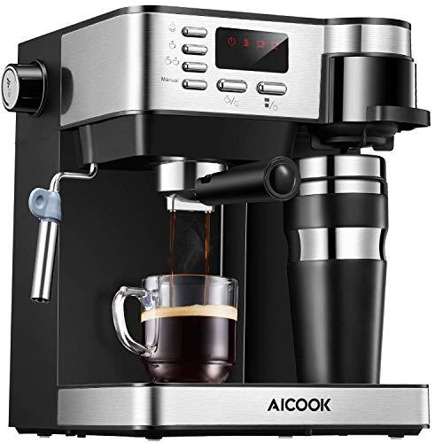 Aicook Cafetera Multifuncion Espresso