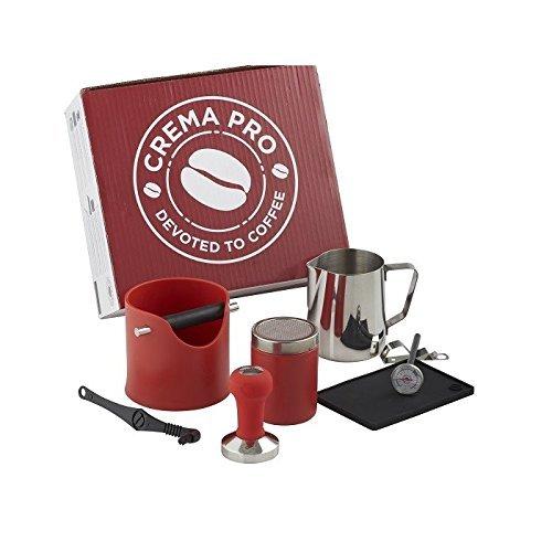 Kit Barista Crema Pro Rojo