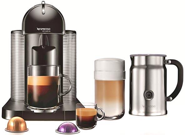 VertuoLine de Nespresso con Aeroccino