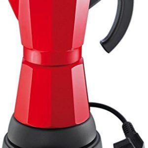 Cafetera eléctrica Cilio Classico Rojo