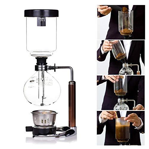 Jarra de café con sifón
